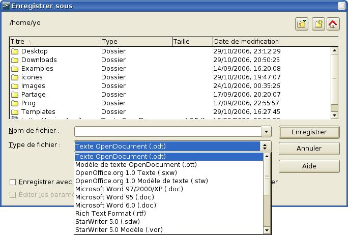 Convertir un fichier openoffice en format pdf - Convertir fichier pdf en open office ...